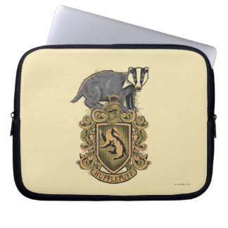 Crête de Harry Potter | Hufflepuff avec le Housse Pour Ordinateur Portable