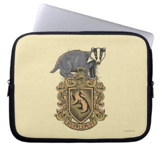 Crête de Harry Potter | Hufflepuff avec le Housses Ordinateur Portable