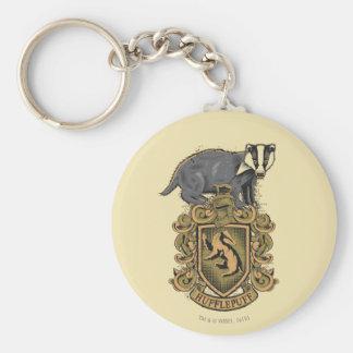 Crête de Harry Potter   Hufflepuff avec le Porte-clé Rond