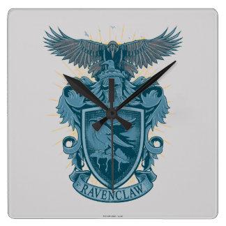 Crête de Harry Potter | Ravenclaw Horloge Carrée