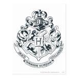 Crête de Hogwarts Carte Postale