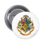 Crête de Hogwarts polychrome Badge Rond 5 Cm
