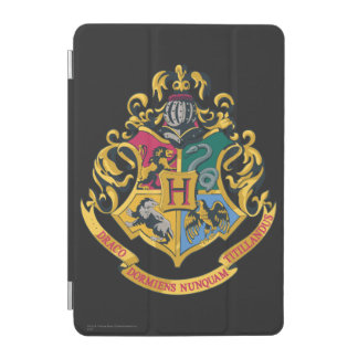 Crête de Hogwarts polychrome Protection iPad Mini