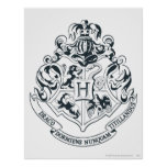 Crête de Hogwarts Poster