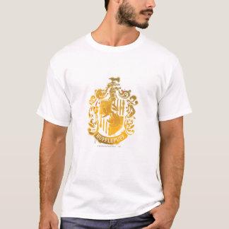 Crête de Hufflepuff - éclaboussée T-shirt