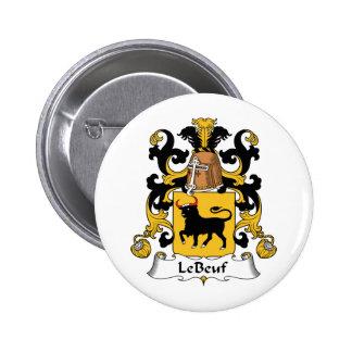 Crête de Le Beuf Family Badges
