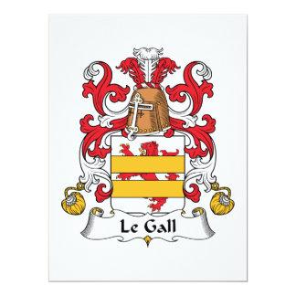 Crête de Le Gall Family Invitations Personnalisables