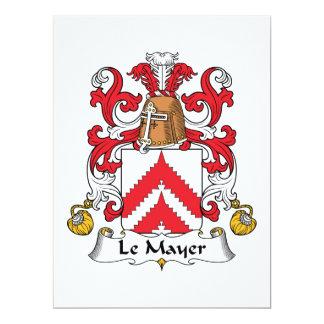 Crête de Le Mayer Family Faire-part Personnalisés
