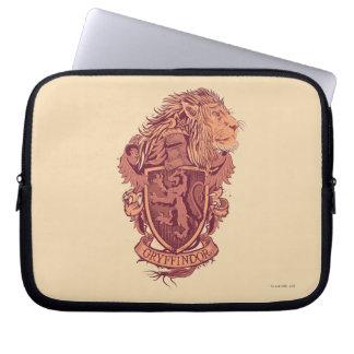 Crête de lion de Harry Potter | Gryffindor Housse Pour Ordinateur Portable