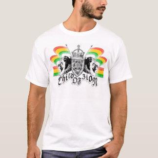 Crête de reggae de Rasta T-shirt