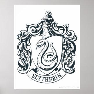 Crête de Slytherin Posters