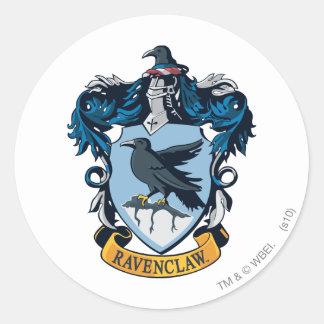 Crête gothique de Harry Potter | Ravenclaw Sticker Rond