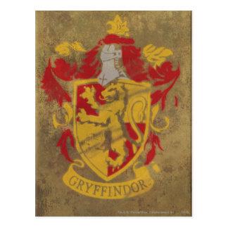 Crête HPE6 de Gryffindor Cartes Postales
