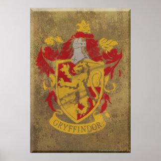 Crête HPE6 de Gryffindor Poster