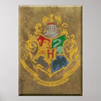 Crête HPE6 de Hogwarts Poster