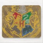Crête HPE6 de Hogwarts Tapis De Souris