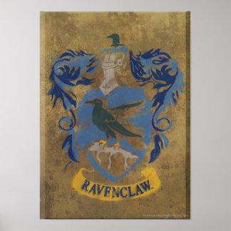 Crête HPE6 de Ravenclaw Posters