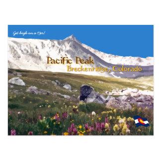 Crête Pacifique - Breckenridge, carte postale de