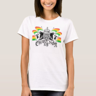 Crête royale de reggae de Rasta T-shirt
