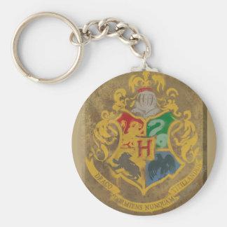 Crête rustique de Harry Potter   Hogwarts Porte-clé Rond
