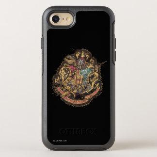 Crête vintage de Harry Potter | Hogwarts Coque Otterbox Symmetry Pour iPhone 7