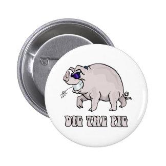 Creusez le porc badge