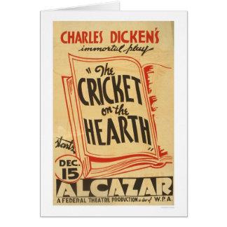 Cricket de Dickens sur le foyer WPA 1938 Cartes