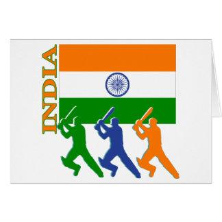 Cricket Inde Cartes