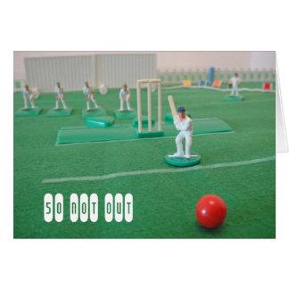 Cricket le cinquantième anniversaire cartes