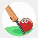 Cricket Sticker Rond