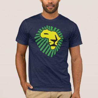Crinière jaune de vert de lion cette fois pour la t-shirt