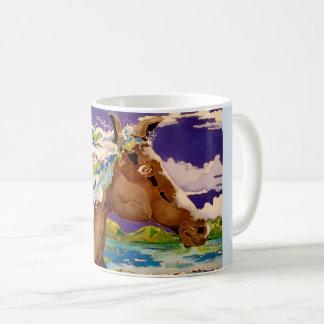 Crinière onduleuse mug