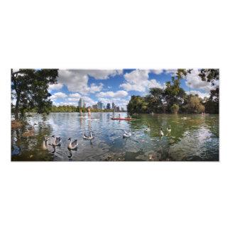 Crique de Barton à Madame Bird Lake - Austin, le Impression Photo