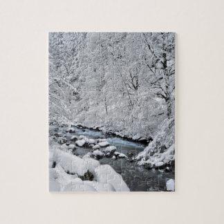Crique de blanc de Milou pittoresque, Orégon Puzzles