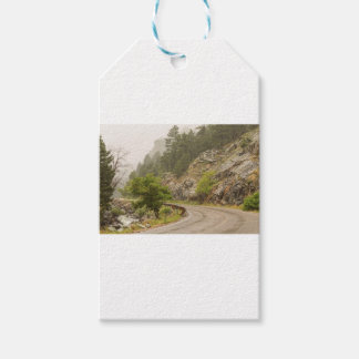 Crique de Boulder et commande brumeuses pluvieuses Étiquettes-cadeau