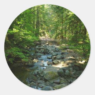 Crique de Laughingwater au parc national de mont Sticker Rond