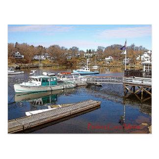 Crique de Perkins, Maine - carte postale