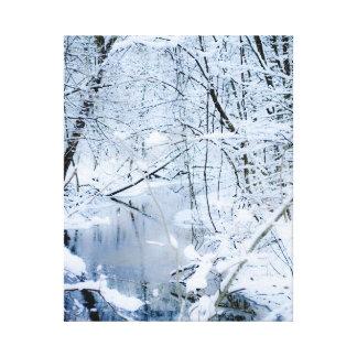 crique d'hiver toiles tendues