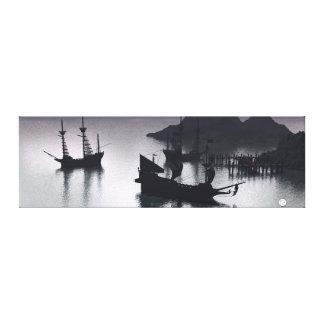 Crique Panarama de pirate Toile
