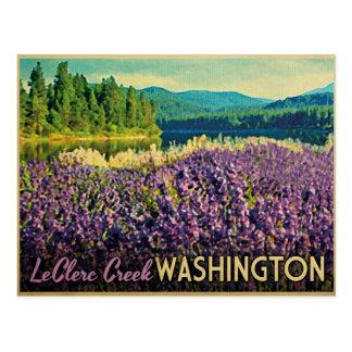 Crique Washington de LeClerc Carte Postale