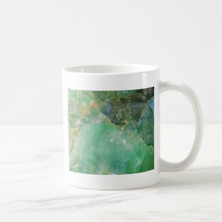 Cristal de quartz vert d'absinthe mug