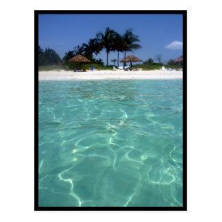 cristal - frontière claire des Bahamas Cartes Postales