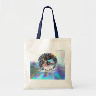 Cristal sur olographe sac en toile