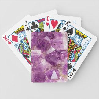 Cristaux de fée de prune de sucre jeu de poker