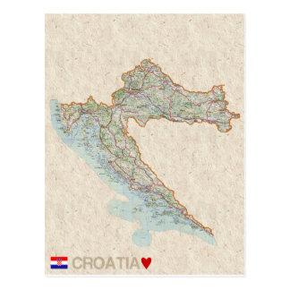 ♥ Croatie de CARTES POSTALES de CARTE