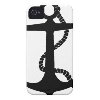 crochet de marin d'ancre coques iPhone 4