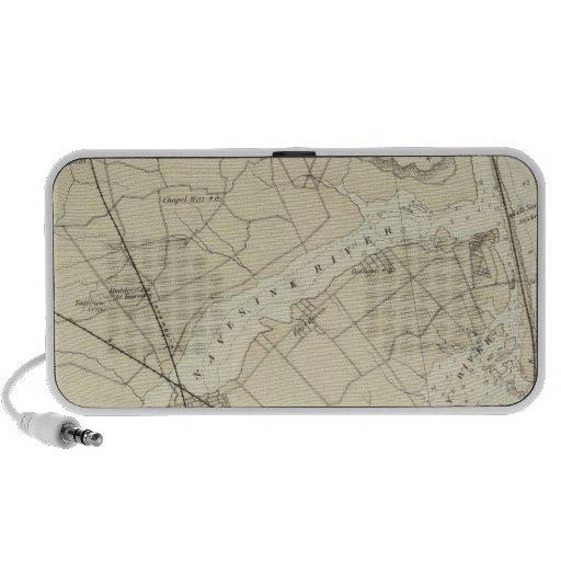 Crochet de Sandy à la carte de diagramme de côte d Mini Haut-parleur