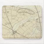 Crochet de Sandy à la carte de diagramme de côte d Tapis De Souris