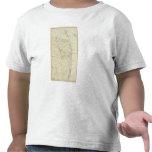 Crochet de Sandy à la carte de diagramme de côte T-shirt
