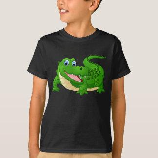 Crocodile heureux Animated T-shirt